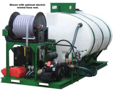 HM-1000-HARV-E Hydroseeder