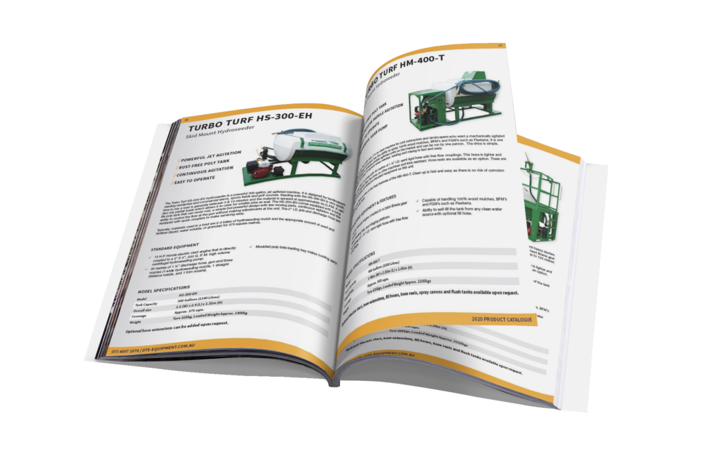 2020 Hydroseeder Catalogue