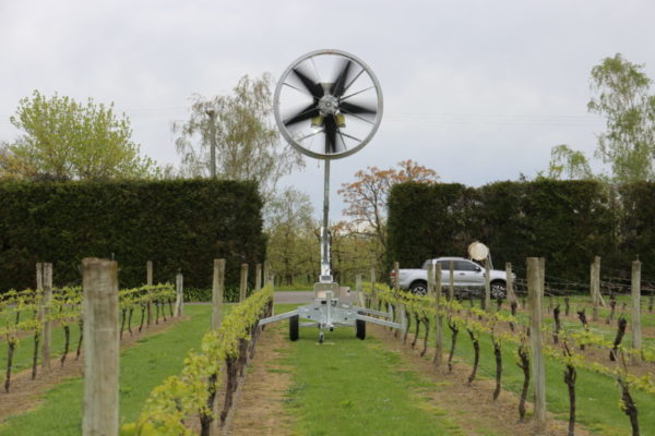 Tow and Blow Frost Fan