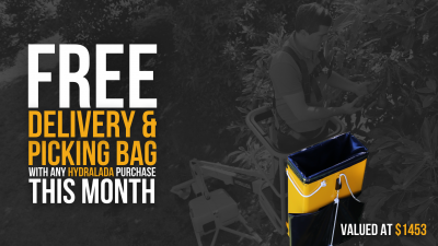 FREE Delivery & Picking Bag with Any Hydralada